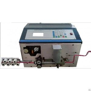 Automatic Battery Cable Stripping Bending Cutting Machine