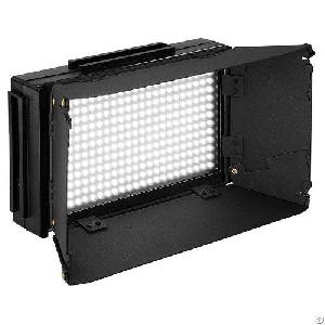 312ds Led On-camera Ultra High Power Video Light Panel With Dimmer And Lcd Screen Display