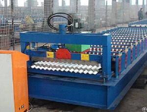 The Advantage Of Roof Plate Forming Machine