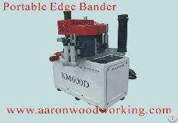 factory aaron portable edge bander km600d