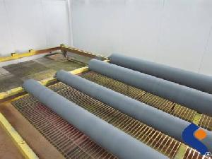 Precision Painted Printing Steel Roller-steel Roller In Paint Oven