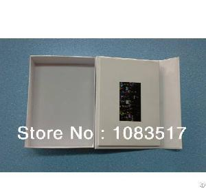 7 Inch Lcd Video Packaging Mounted Box 256-2gb Flash Memory With Light Sensor Custom Design