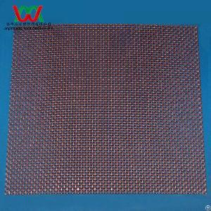 22 mesh copper 0 38mm wire dia plain woven screen