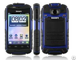 shipping 3 5 android smart phone shockproof discovery v5 daul sim card wifi bluetooth