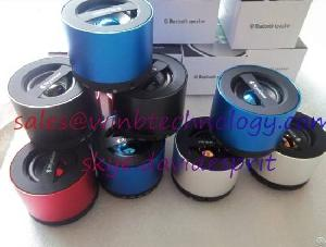 Wireless Mini Bluetooth Speaker Hifi Beatbox With Mic For Iphone 5 Mp4 Mp3 Tablet Pc Music Player