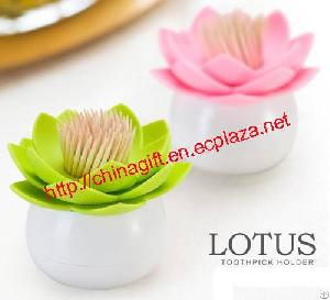 Lotus Style Toothpick Holder