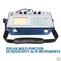 Dzd-6a Multi-function Underground Water And Metal Detector