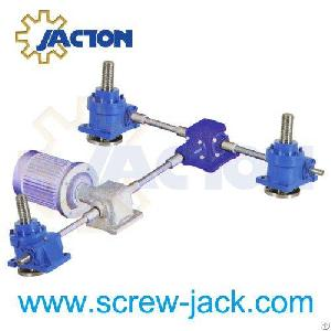 worm gear machine screw linear actuators systems suppliers manufacturers