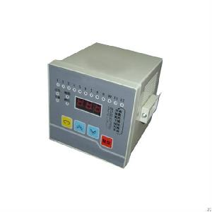 380v ac power 3 digital led display factor controller 6 step