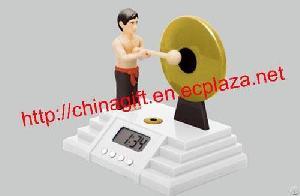 knock gong alarm clock