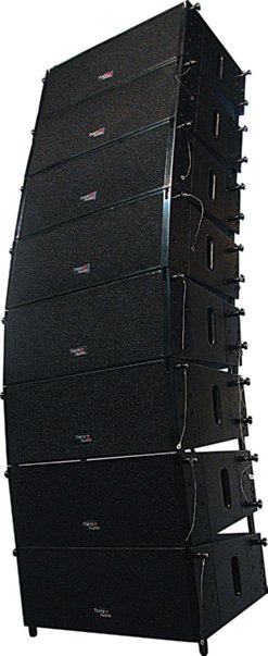 line array speaker la system mini281