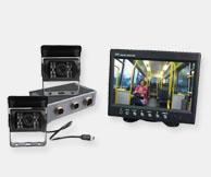 reversing camera system dual cameras haevy duty