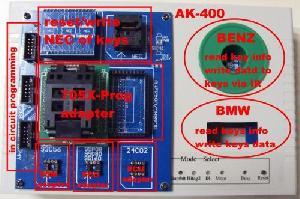 benz anf bmw smart key maker ak400