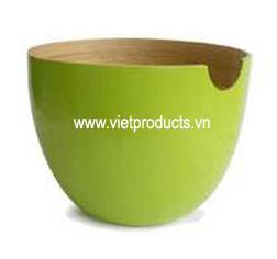 bamboo salad bowl 24332