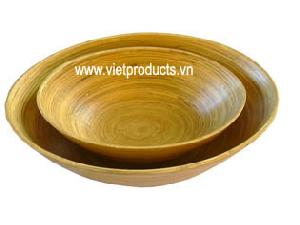 coilde bamboo bowl 24377