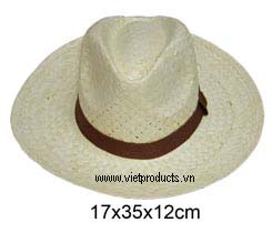 Palm Leaf Cowboy Hat For Men 01594