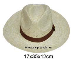 palm leaf cowboy hat men 01594