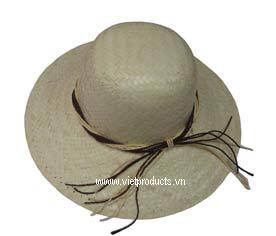 palm leaf hat 01136
