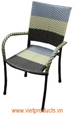 poly garden rattan chair 07607