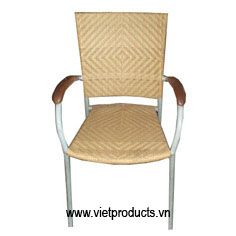 poly outdoor rattan chair