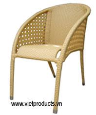 poly rattan garden chair 07608