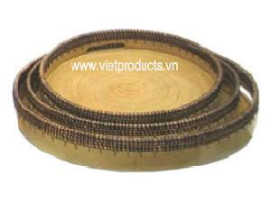 vietnam bamboo tray 24324