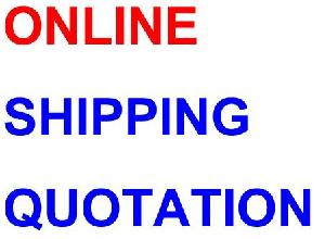 shipping quotation ex europe