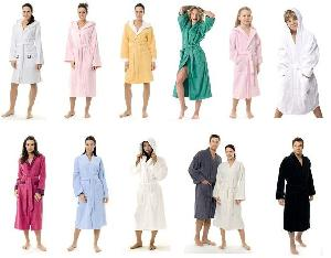 women s bathrobes men kid children infant robes ladies