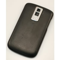 blackberry bold 9000 battery cover w leather backing