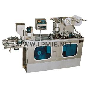 dpp150c d plate alu pvc blister packing machine