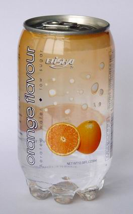 orange flavour aerated drinks