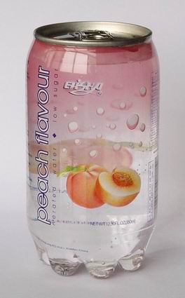 peach flavour aerated drinks