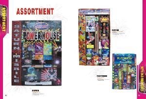 export assortment fireworks