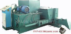 9yp 630 hydraulic biomass briquette press