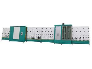insulating glass vertical flat pressing line