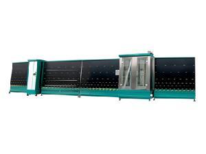 insulating glass vertical roller press line