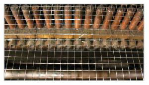 stainless steel welded wire mesh 316 utilized guards buildings factories animal enclo