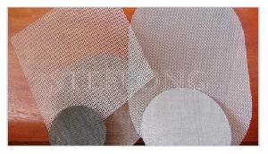 stainless wire cloth discs