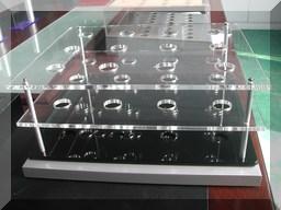 acrylic golf club display stand