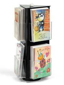 acrylic greeting card display