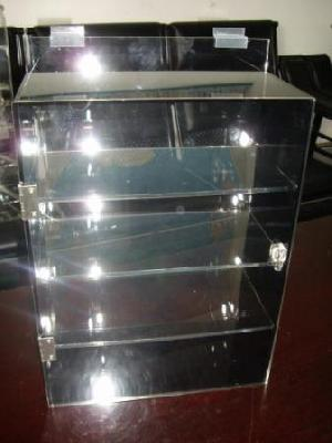 acrylic slatwall display case