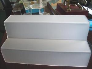 acrylic stair platform