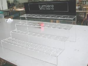 mineral cosmetics display stand