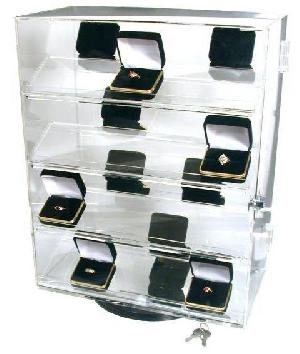 revolving jewelry display stand