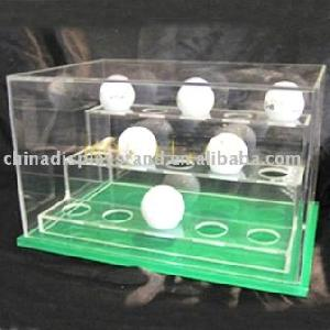 3 tier golf ball display case