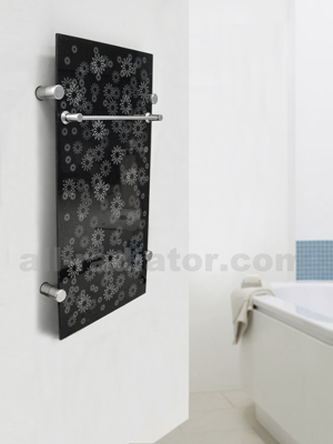 glass bathroom towel rail