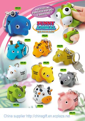 eyes pop keychain toy