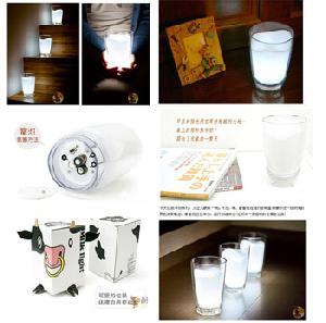 milk glass lamp