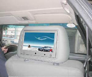 9inch taxi lcd ad player headrest