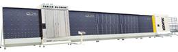 vertical flat press insulating glass line igv25